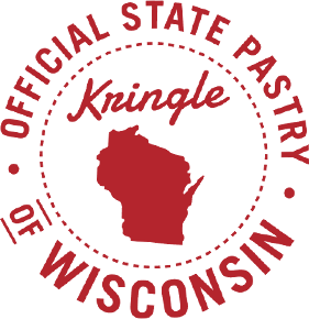 Kringle Official State Pastry of Wisconsin Seal